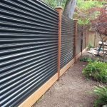 Corrugated Steel N Wood