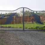 Driveway Gate - Actuated