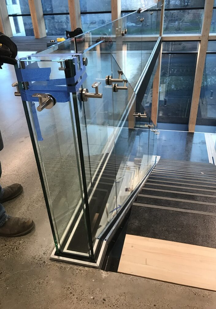 Architectural Glass Rail